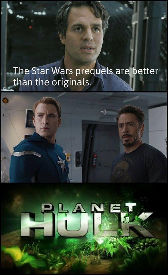 Captain America And Hulk Meme