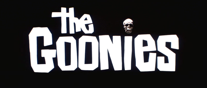 movie logo  the goonies  know your meme