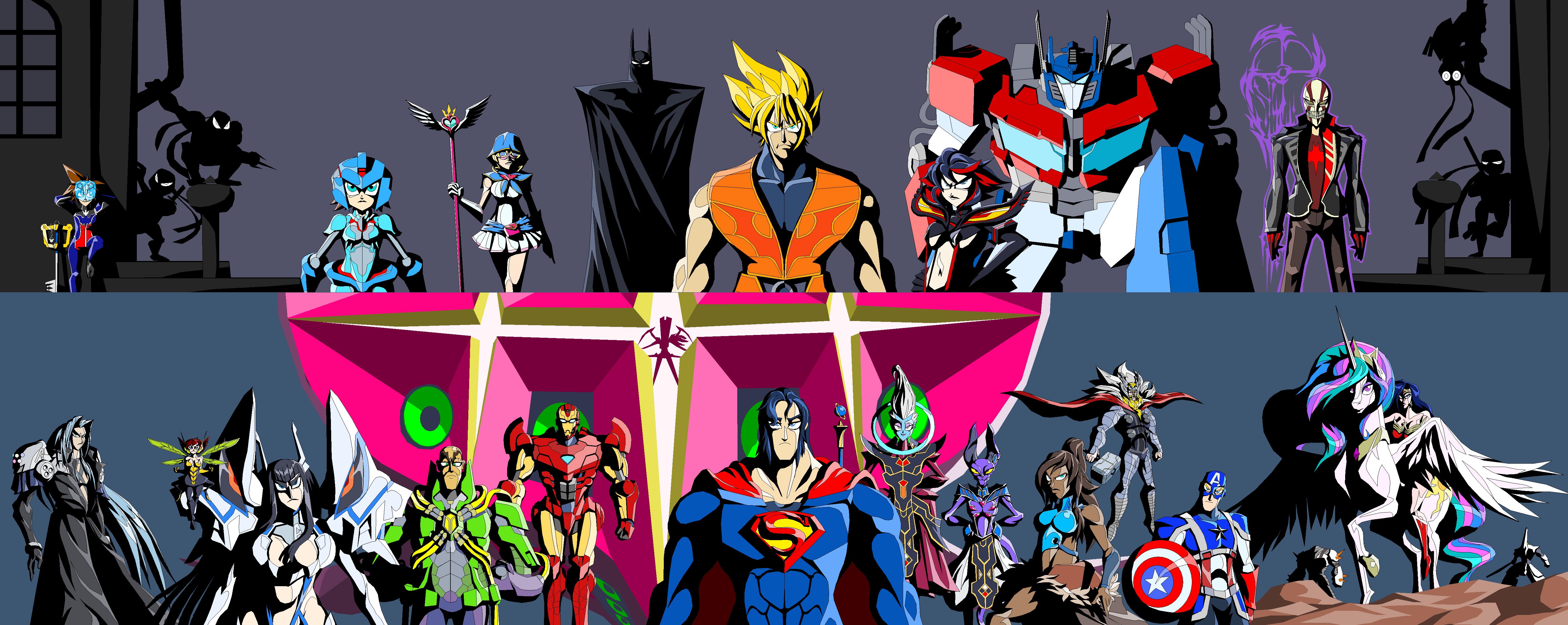 dbz and justice league fanfiction