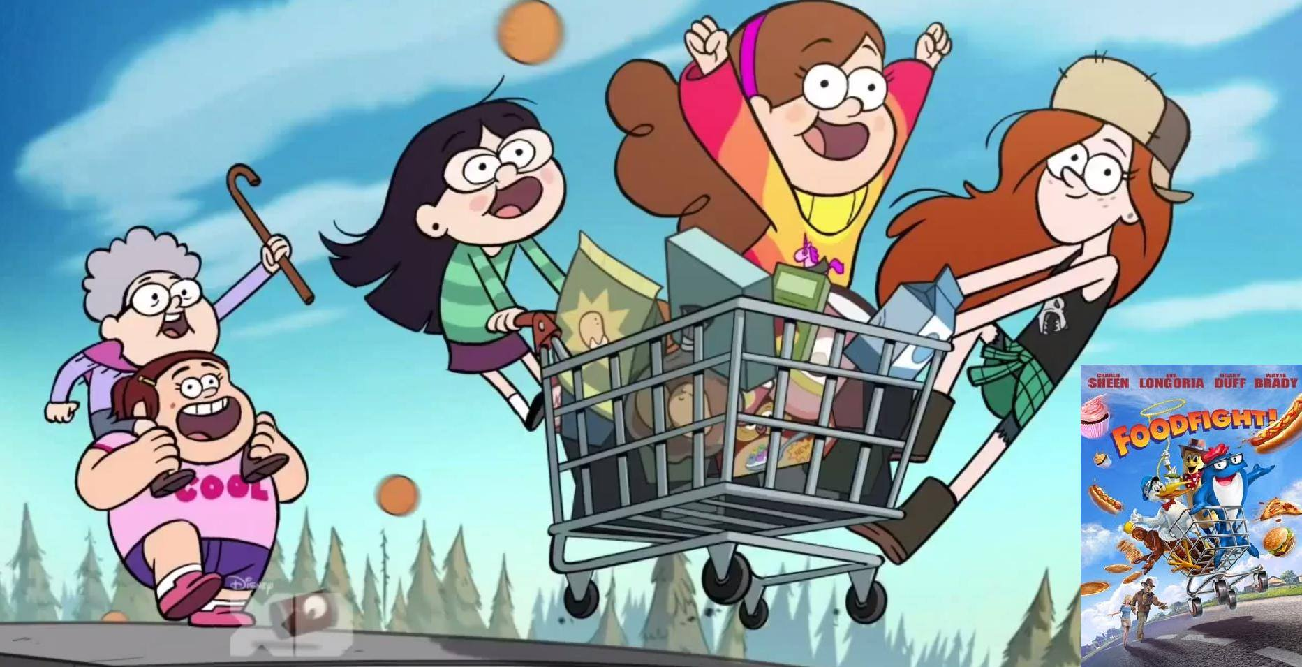 Oh God.. Foodfight reference? | Gravity Falls | Know Your Meme