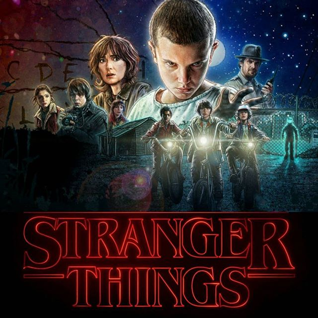 Stanger Things Season 1 cover art